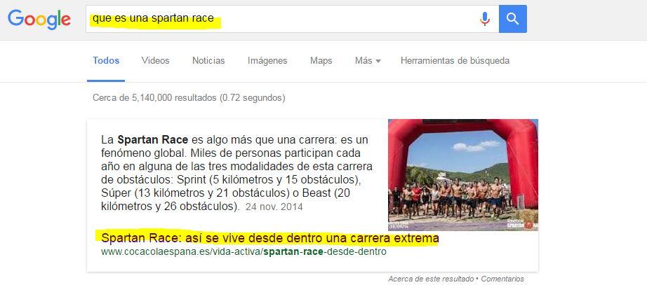 Ejemplo RanBrain de Google
