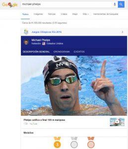Juegos olímpicos Google