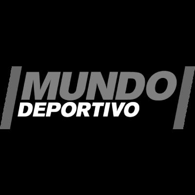 Logo Mundo Deportivo Blanco y Negro