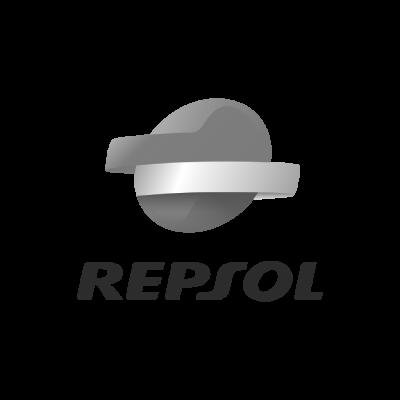 Repsol Logo blanco y negro